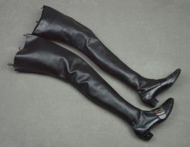 Woman's Thigh-High Boots
