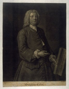 Portrait of William Caslon