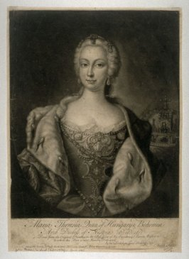 Portrait of Maria Theresa