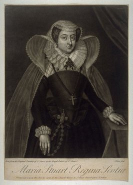 Portrait of Mary Stuart,Queen of Scots