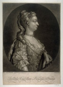 Portrait of Anne, Princess of Orange