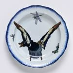 Soup plate with flying duck from the 'Rousseau' Service