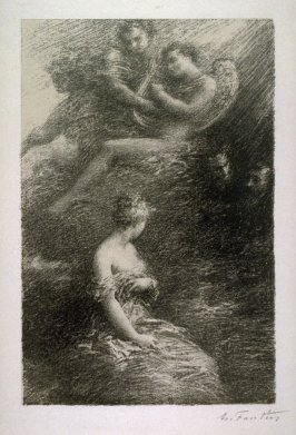 Damnation of Faust. Apparition of Marguerite,