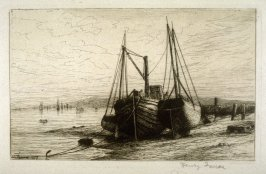 New York Bay, plate 3 in the book, Choice Etchings (London: Alexander Strahan, 1887)