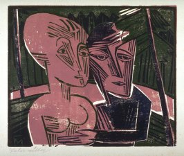 Menschen im Wald (Paar im Wald) (People in the Forest [Couple in the Forest])