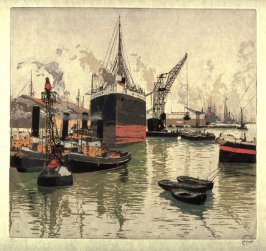Harbor of Le Havre France, No.1