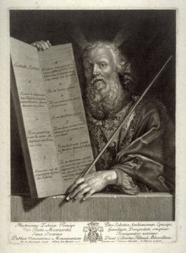 Moses with the Tablets of the Ten Commandments