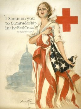I Summon You to Comradeship in the Red Cross - World War I Poster