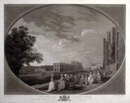 South East View of Windsor Castle