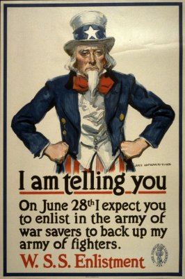 I Am Telling You - World War I Poster
