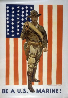Be a U.S. Marine! - World War I poster