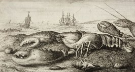 Camarus, Le Homard (The Lobster), from Salt Fresh Water Fish, Part I