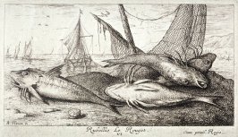 Rubellio, Le Rouget (The Red Mullet), from Salt Water Fish, Part II
