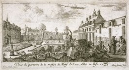 View of the Garden and House at Issy, from Landscapes Near Paris