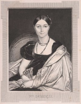 Mme. Duvauçey, published in the Gazette des Beaux-Arts