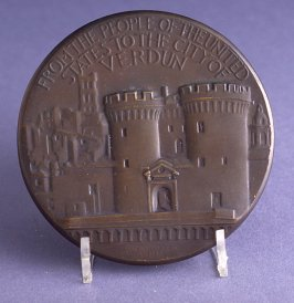 From the people of the United States to the city of Verdun