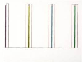 Untitled (to Prof. Klaus Gallwitz), 1993 from Dan Flavin: Projects 1963 - 1995, 1996 -97