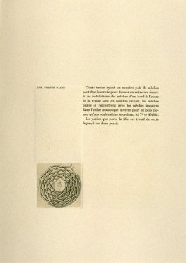 Untitled, on page 40 of the book Entrelacs ou Les Divagations d'un Buriniste by Albert Flocon (Paris: Chez Lucien Scheler, 1975)