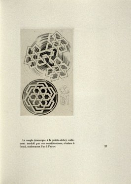 Untitled, on page 27 of the book Entrelacs ou Les Divagations d'un Buriniste by Albert Flocon (Paris: Chez Lucien Scheler, 1975)
