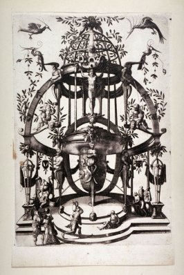 [One of] Two from a set of four prints of grosteque ornament