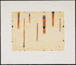 Three String Etching, Blue Point