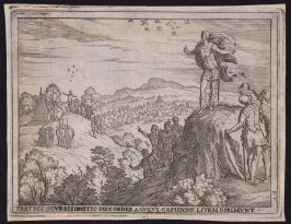 The Brothers, Disputing Over the Founding of Rome, Consult the Augurs, pl.7 from the series The Story of Romulus and Remus