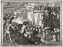 Romulus Takes the City of Caenina, pl.14 from the series The Story of Romulus and Remus
