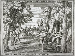 The Brothers Celebrate the Feast of Pan, pl.4 from the series The Story of Romulus and Remus