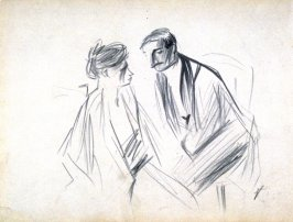 The Proposition (?), A Sketch of Two Figures