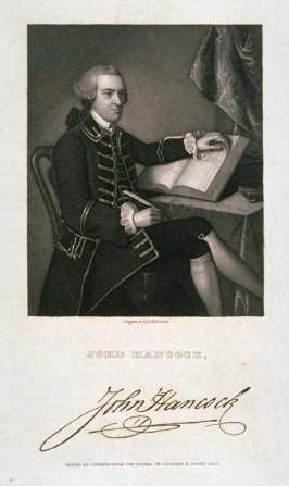 Portrait of John Hancock, the Signer