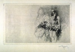 Une Esquisse (A sketch (two Arabs))