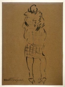 Untitled (Rear View of Standing Woman)