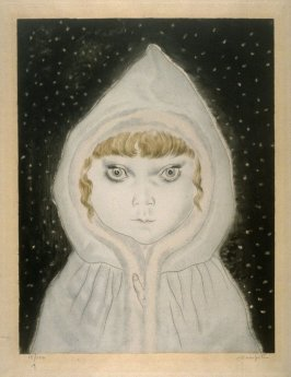 Child in Hood in the Snow