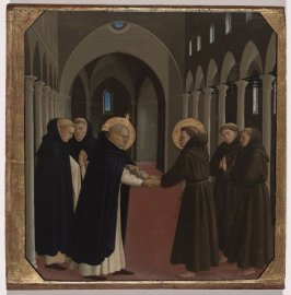 The Meeting of Saint Dominic and Saint Francis of Assisi