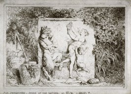 La Famille su satyre (The Satyr's Family), from the set of four Bacchanales