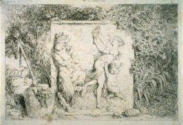 Danse de Satyres (The Satyrs' Dance), from the set of four Bacchanales