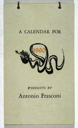 Calendar for 1960 (15 woodcuts)