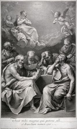 Doctors of the Church discussing the Immaculateness of the Virgin