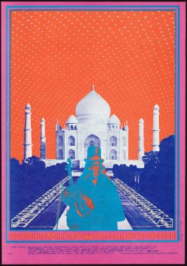 """Tripping or Taj Mahal,"" Charles Lloyd Quartet, West Coast Natural Gas Co., August 3 - 6,  Avalon Ballroom"