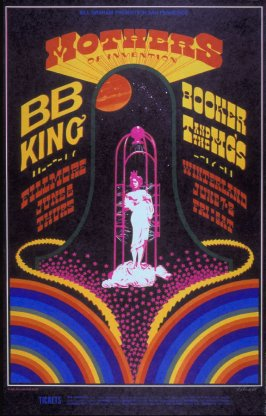 Mothers of Invention, B.B. King, Booker T & the MG's, June 6, Fillmore Auditorium, June 7 & 8, Winterland