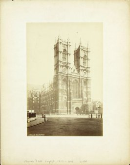 71. Westminster Abbey, West Front