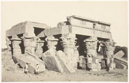 """""""Temple of Koum Ombo,"""" in the book Egypt and Palestine, 2 vols., by Francis Frith (London: James S. Virtue, 1858-1859); volume I of II"""