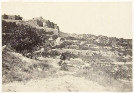 """""""Bethlehem, with the Church of the Nativity,"""" in the book Egypt and Palestine, 2 vols., by Francis Frith (London: James S. Virtue, 1858-1859); volume I of II"""