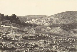 """View at Hebron,"" in the book Egypt and Palestine, 2 vols., by Francis Frith (London: James S. Virtue, 1858-1859); volume I of II"
