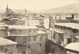 """Damascus,"" in the book Egypt and Palestine, 2 vols., by Francis Frith (London: James S. Virtue, 1858-1859); volume I of II"