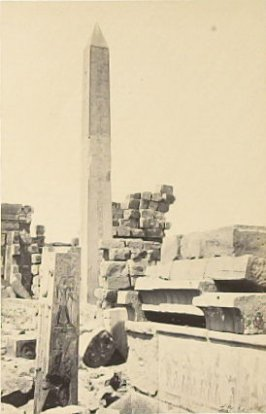"""Sculptured Gateway, Karnac,"" in the book Egypt and Palestine, 2 vols., by Francis Frith (London: James S. Virtue, 1858-1859); volume I of II"