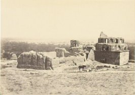 """Distant View of Damascus, from Salihiyeh,"" in the book Egypt and Palestine, 2 vols., by Francis Frith (London: James S. Virtue, 1858-1859); volume II of II"