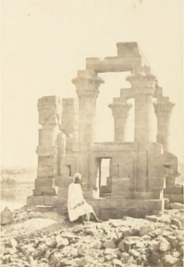 """Early Morning at Wady Kardassy, Nubia,"" in the book Egypt and Palestine, 2 vols., by Francis Frith (London: James S. Virtue, 1858-1859); volume II of II"
