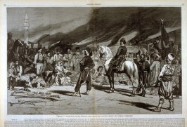 """""""Mercy""""- A Hungarian Village Retaken, from Harper's Weekly (27 October 1877, pages 844-845)"""