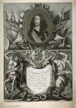 Portrait of Francois Diste, Duke of Modena, Generalissiomo of the Army of the Italian King.
